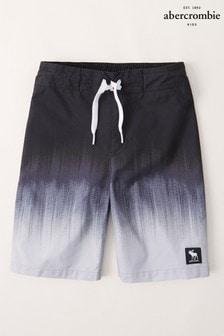 Abercrombie & Fitch Ombre Dip Dye Swim Shorts