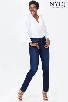 NYDJ Mid Blue Denim Sheri Slim Leg Jean