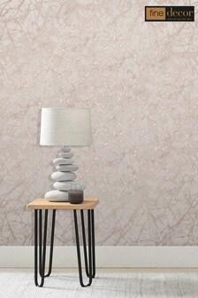 Fine Décor Marblesque Metallic Wallpaper