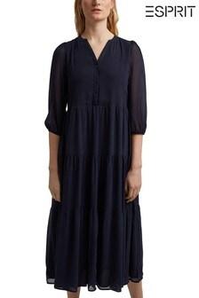 Esprit Blue Midi Dress