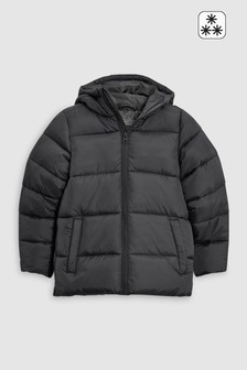 Black  Padded Jacket (3-16yrs)