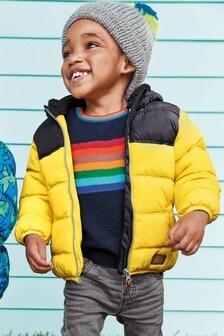 Yellow  Padded Jacket (3mths-7yrs)