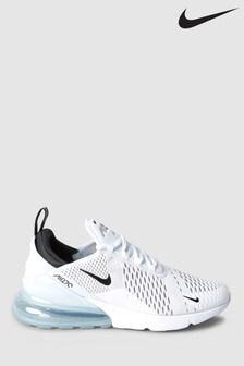 White  Nike Air Max 270