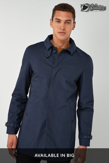 Navy British Millerain Signature Mac