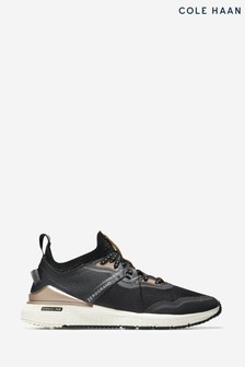 Cole Haan Black Zerogrand Overtake Runner Sports Shoes