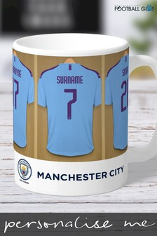 Personalised Manchester City Mug by Personalised Football Gifts
