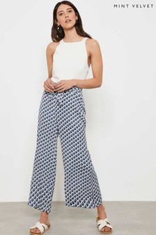 Mint Velvet Samantha Wide Crop Trousers