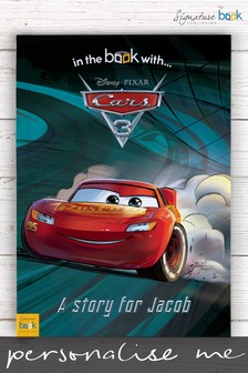 Personalised Disney™ Cars 3 Book by Signature Book Publishing