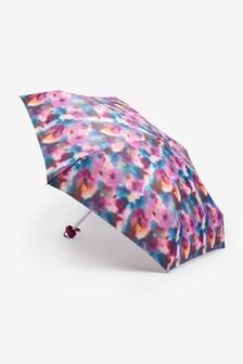 Multi Abstract Tie Dye Umbrella