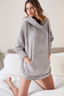 Grey Star  Carved Snuggle Top