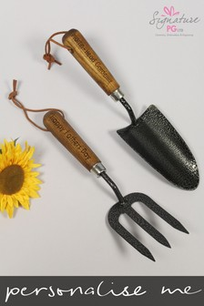 Personalised Gardening Tool Set by Signature PG