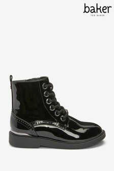 Baker by Ted Baker Patent Brogue Boots