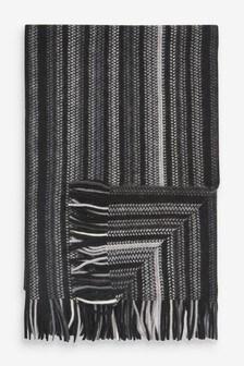 Monochrome Stripe Scarf