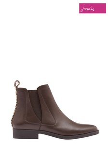 Joules Cheltenham Leather Chelsea Boots