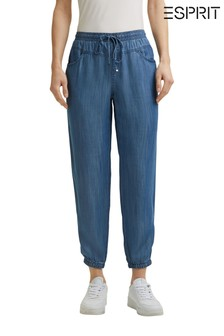 Esprit Blue Jogger Tencel Pants