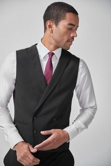Black Morning Suit: Waistcoat