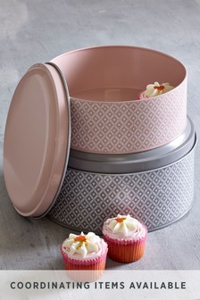 Set of 2 Geo Cake Tins
