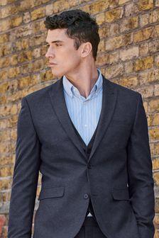 Navy Flannel Suit: Waistcoat
