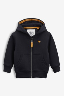 Navy Essential Zip Through Hoodie (3mths-7yrs)
