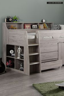Grey Oak Julian Bowen Multi Storage Mid Sleeper
