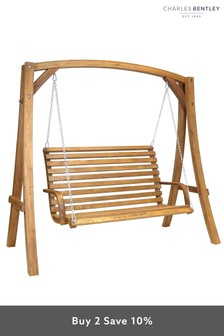 2/3 Seater Outdoor Swing Seat By Charles Bentley