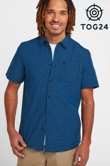 Tog 24 Blue Foster Mens Check Shirt
