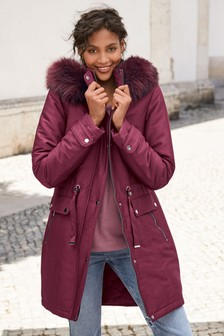 buy genuine shoes cozy fresh Women's coats and jackets Red | Next Ireland