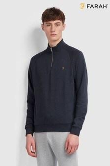 Farah Jim 1/4 Zip Sweatshirt