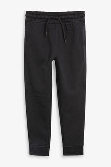 Black Basic Joggers (3-16yrs)