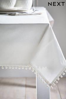 Pom Pom Tablecloth