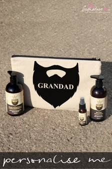 Personalised Beard Grooming Set by Signature PG