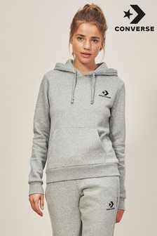 Grey Converse Pull Over Hoody f0665df5846a