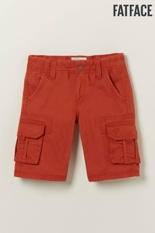 FatFace Brown Lulworth Cargo Shorts