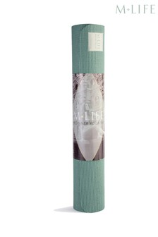 M.Life Beginners Yoga Mat 4mm
