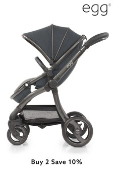 Carbon Grey Egg Stroller By Babystyle