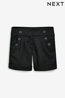 Black Shorts (3-16yrs)