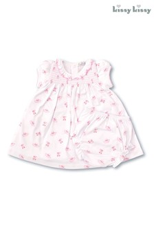 Kissy Kissy Pink Ballet Slippers Dress