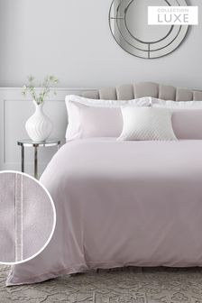 300 Thread Count Cotton Sateen Collection Luxe Duvet Cover And Pillowcase Set
