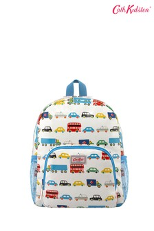 Cath Kidston Kids White Classic Large Backpack With Mesh Pocket
