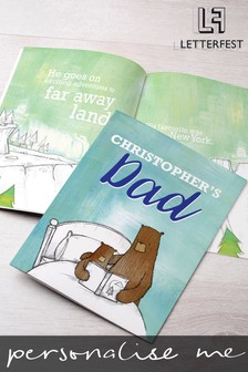 Personalised Dad Story Book by Letterfest