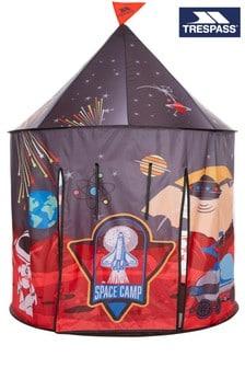 Trespass Black Chateau Kids Play Tent