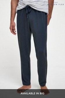 Navy Motionflex Stretch Pyjama Bottoms