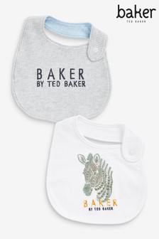 Baker by Ted Baker Baby Boys Bibs Two Pack