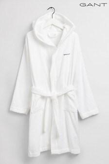 GANT White Vacay Robe