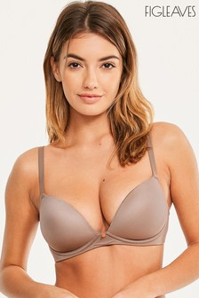 Figleaves Smoothing Non Wired Plunge Bra