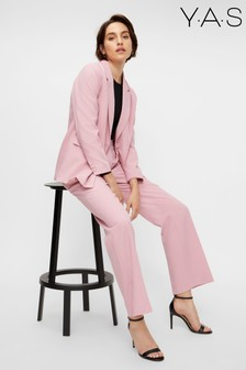Y.A.S Pink Bluris Suit Trousers