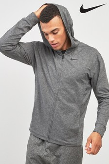 Nike Train Dry Black Zip Through Hoody