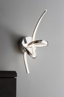 Sculptural LED Wall Light