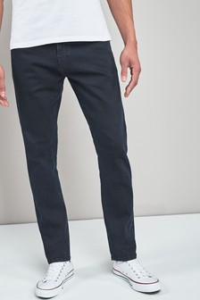 Blue/Black Slim Fit Jeans With Stretch