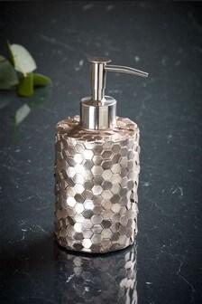 Metallic Hexagonal Soap Dispenser